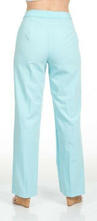 Stylish Women's Golf & Casual Straight Leg Pant in Sage Green - GolderWear image 5
