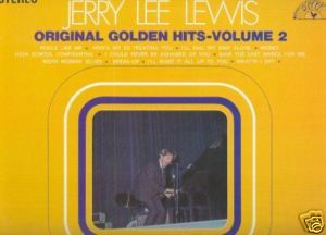 Primary image for JERRY LEE LEWIS LP Original Golden Hits Volume 2