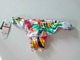 Hula Honey Multi Color Bikini Bottoms Size XS image 2