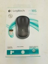 Genuine Logitech M185 Wireless Mouse - Silver (910-003922)  sealed  - $29.10