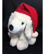 RARE HTF Russ TINSEL Puppy Dog White Plush Stuffed Animal Toy Red Christ... - $199.00