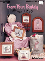 Cross Stitch From Your Buddy With Love Xoxo L.A. 780 - $3.00