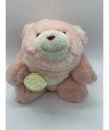 "GUND SNUFFLES BEAR ROSE PINK VTG 1980 PLUSH STUFFED ANIMAL TOY LOVEY 7"" w/TAG - $16.99"