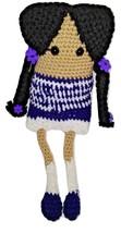 Toy Amigurumi Crochet Girl Doll l Handmade Brown Yarn Hair  muñeca tejid... - $35.00