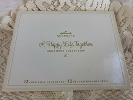 Hallmark Keepsake A Happy Life Together Miniature Ornament Collection 2006 - $14.96