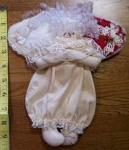 Handmade Lace & Cloth Christmas Angel w/Hanging Loop New! - $9.00