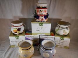 Designer CANDLE WARMER Tart Melt Oil SCENT SIMMER Ceramic Mia Bellas Candles - $20.00