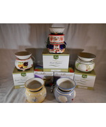 Designer CANDLE WARMER Tart Melt Oil SCENT SIMMER Ceramic Mia Bellas Can... - $20.00