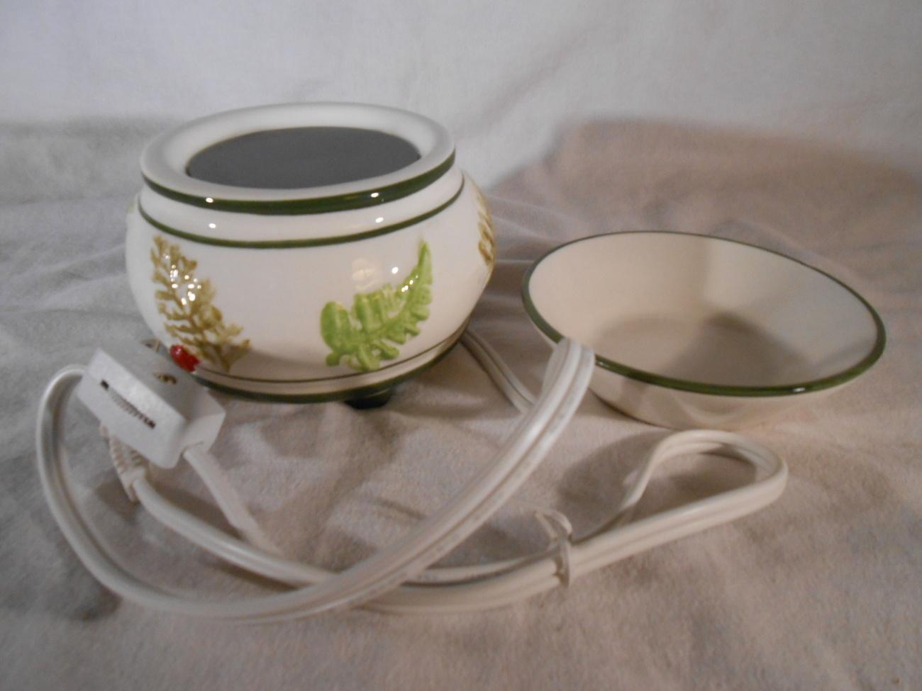Designer CANDLE WARMER Tart Melt Oil SCENT SIMMER Ceramic Mia Bellas Candles
