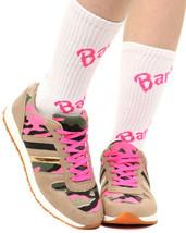 Wild Diva Mel-01A Tarnfarbe Mix Medien Schnürbar Modische Sneaker, Pink,... - $27.82