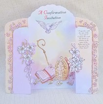 Elegant Confirmacion Confirmation Presentation Party Divine Invitations ... - $12.82