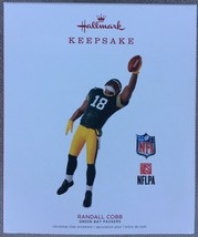Hallmark 2018 RANDALL COBB Green Bay Packers NFL NFLPA - MIP - $9.95