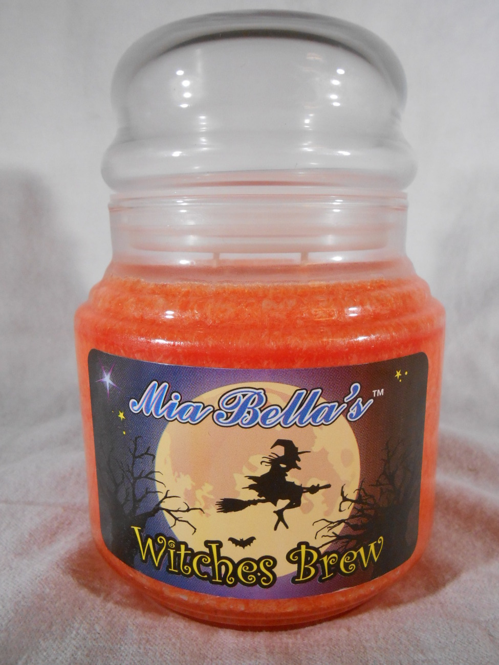Halloween WITCHES BREW Black Licorice SCENTED CANDLE Mia Bellas Candles