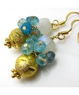 Golden Dewdrops Earrings - $25.00