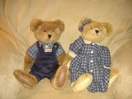 Boyds Bears Courtney & Nelson Plush Bears - $30.99