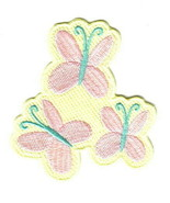 My Little Pony Fluttershy Cutie Marks Embroidered Patch NEW UNUSED - $7.84