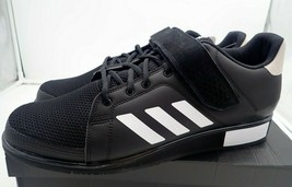 adidas Men's Power Perfect III. Cross Trainer, Black/White/Matte Gold, 15 M - $57.00