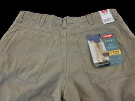 Wrangler Men's Relaxed Fit Fleece Lined Cargo Khaki  Pants  36 x 29  - $22.98
