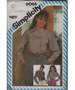 Simplicity 6066 Size 10 Misses set of Loose Fitting Shirts Blouses - $1.99