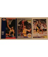 Vlade Divac Lot of 3 Trading Cards Basketball NBA L.A. Lakers with Rookie - $3.95
