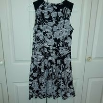 Women's Ann Taylor Loft Factory Shift Dress Size 2 Black/White image 4
