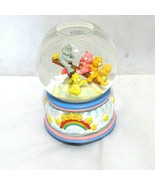 Care Bears Musical Snow Globe You Are My Sunshine 5 Bears Rainbow Blue Pink - $49.49