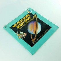 My First Book About Space Golden Look Look Book 1982 Childrens Vintage M... - $15.99