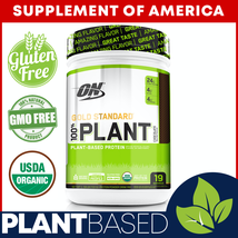 "Optimum Nutrition Gold Standard 100% Plant Based ""Best Seller"" ""Free Shipping"" - $29.98"