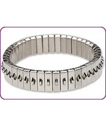 10 Stainless Steel CHA-CHA Expansion Bracelets ~Single Row of Loops ~Add... - $31.44