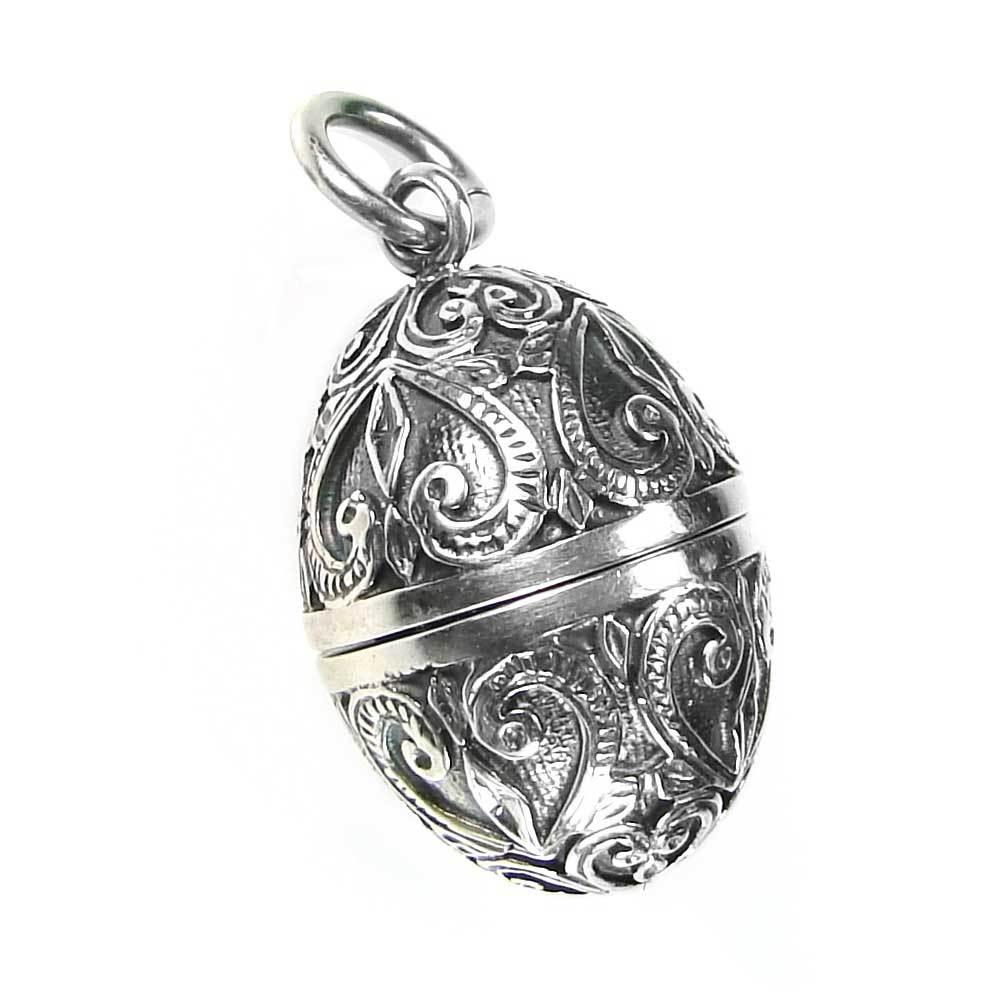 02003464 gerochristo 3464 silver egg locket pendant 1