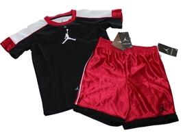 NEW Nike Jumpman Toddler Boys Basketball 2-piece Short Set Size 4T - $22.84
