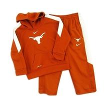 NEW Nike Texas Longhorns Toddler Performance Hoody Hoodie & Tricot Pant ... - $27.42