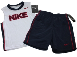 NEW Nike Toddler Boys  2-piece USA Short Set Size 3T - $18.27