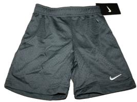 NEW Nike Toddler Boys  Athletic Mesh Grey Shorts 766650 Size 2T - $13.69
