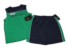 NEW Nike Toddler Boys Basketball 2-piece Short Set Size 4T - $18.27