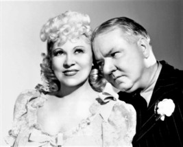 Mae West and W.C. Fields in a promotional photo for My Little Chickade... - $7.18