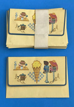 Vintage Envelope Soda Fountain Ice Cream Parlor Shop Set Mary Poppins - $15.83