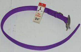 Valhoma 741 24 PR Dog Collar Purple Double Layer Nylon 24 inches Pkg 1 image 4