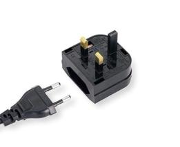 European To English Outlet Plug Adapter - Travel AC EU To EU Power Conve... - $5.99