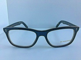 New BURBERRY B 1222-F 5435 54mm Black Rectangular Rx Eyeglasses Frame #1 - $129.99
