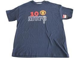 New Men's  Manchester United 10 MUFC T-Shirt  Top Size XL - $13.69