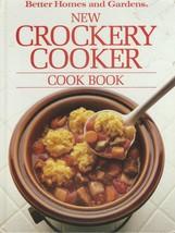 """Better Homes & Gardens """"NEW CROCKERY COOKER"""" Cookbook;1987 HC  - $9.99"""