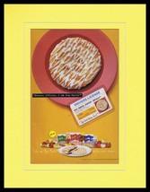 1998 Pop Tarts Pastry Swirls 11x14 Framed ORIGINAL Vintage Advertisement - $32.36