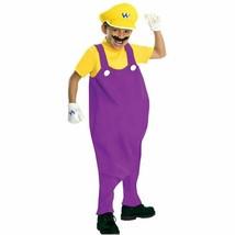 Wario Costume Size: Large  Rubie's Boys Deluxe Super Mario Wario Costume - $18.69