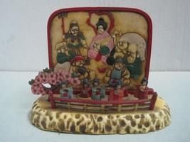 Antique decorative figures chineses in hard plastic - $32.38