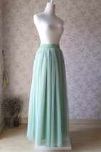 Reserved Order - Sage Green Wedding Bridesmaid Skirt x 9pcs image 4