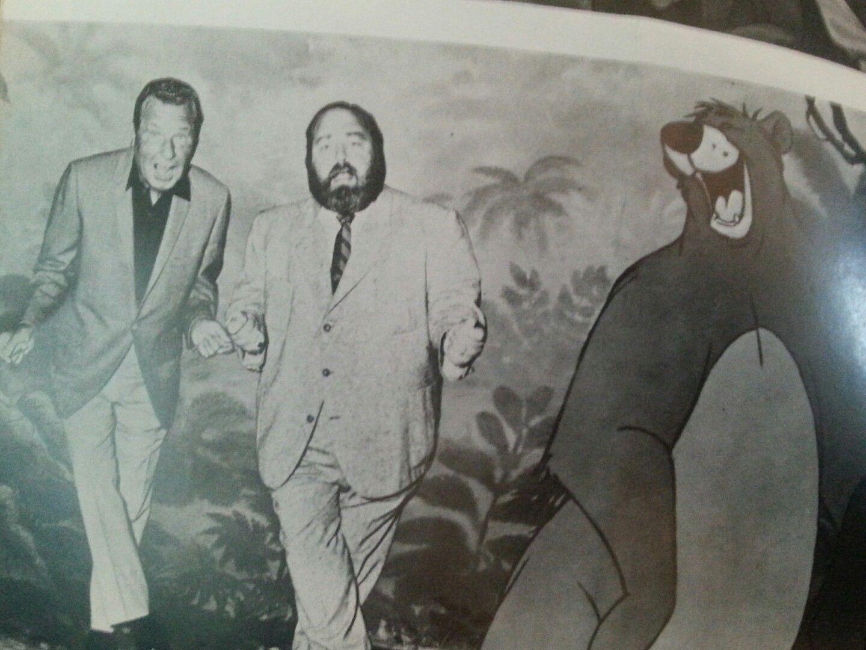 WALT DISNEY JUNGLE BOOK SOUVENIR BROCHURE 1967