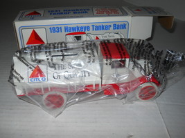 Ertl 1931 Hawkeye Tanker Truck Diecast Bank 1:34 Scale 1991 #2 3451 New ... - $18.46
