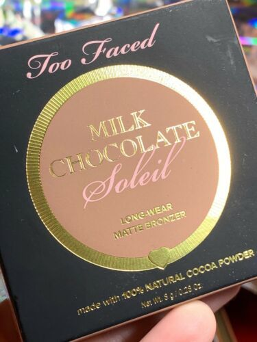 RAPID SHIP New In Box Too Faced Milk Chocolate Soleil Bronzer TRUSTED*SELLER