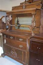 Quartersawn Oak Cherub Carved Side Board / Buffet - $3,449.50